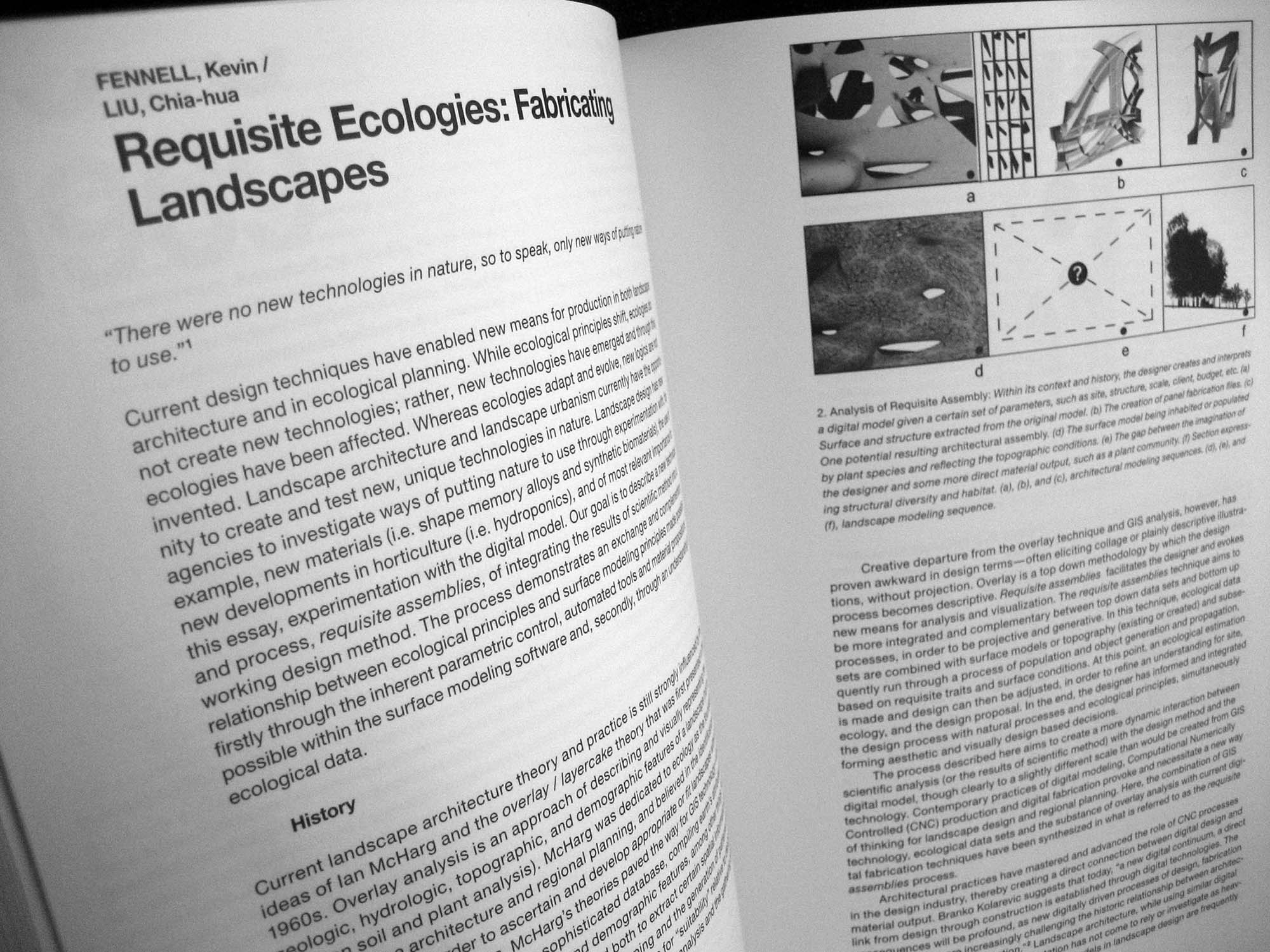 Requisite Ecologies: Fabricating Landscapes - 306090 建築刊物